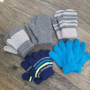 Baby boy mittens